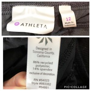 Athleta Pants - Athleta Interlude ankle pant size 12